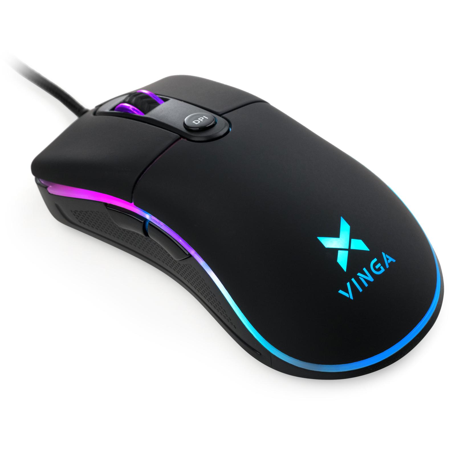 Мышка Vinga MSG-175 Black изображение 2
