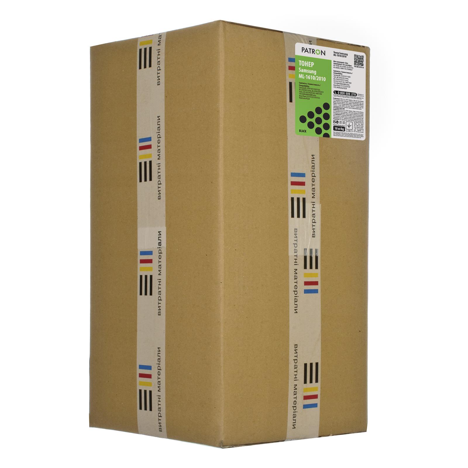 Тонер SAMSUNG ML-1610/2010 ПАКЕТ 10 кг PATRON Patron (PN-SML1610-10)