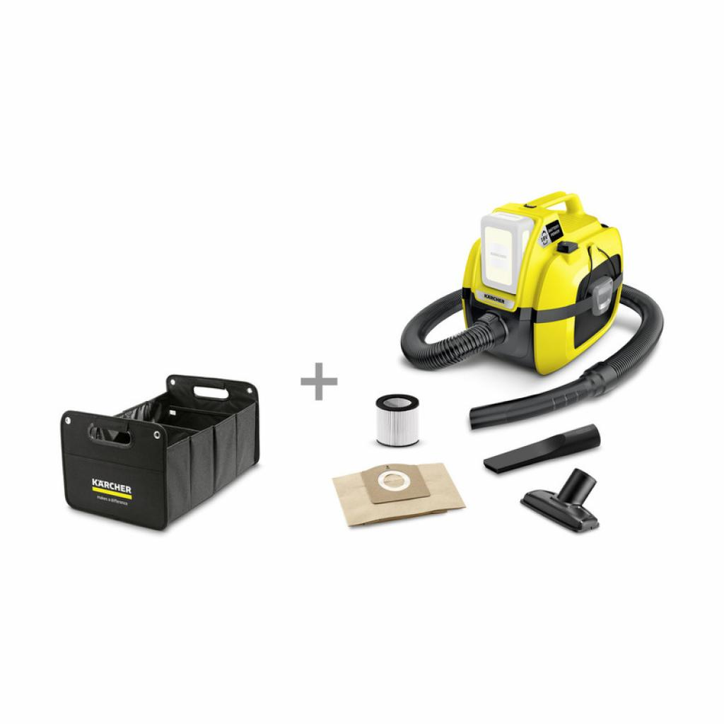 Пылесос Karcher WD 1 Compact Battery (9.611-309.0)
