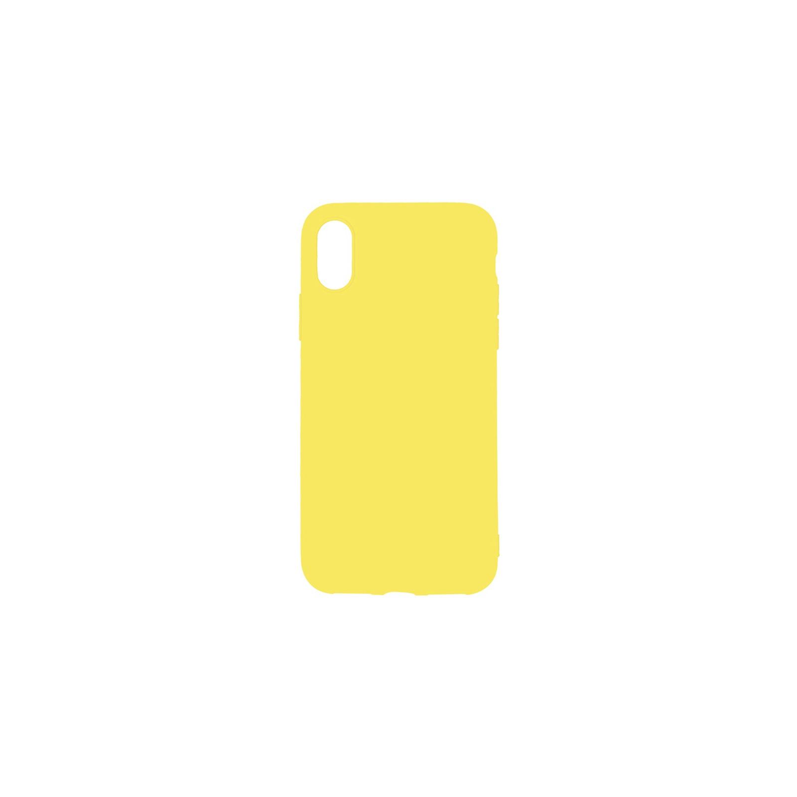 Чехол для моб. телефона Toto 1mm Matt TPU Case Apple iPhone XR Yellow (F_93845)
