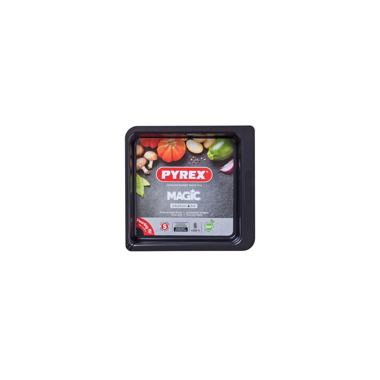 Форма для выпечки Pyrex Magic 24 х 24 см квадратная (MG24SR6)