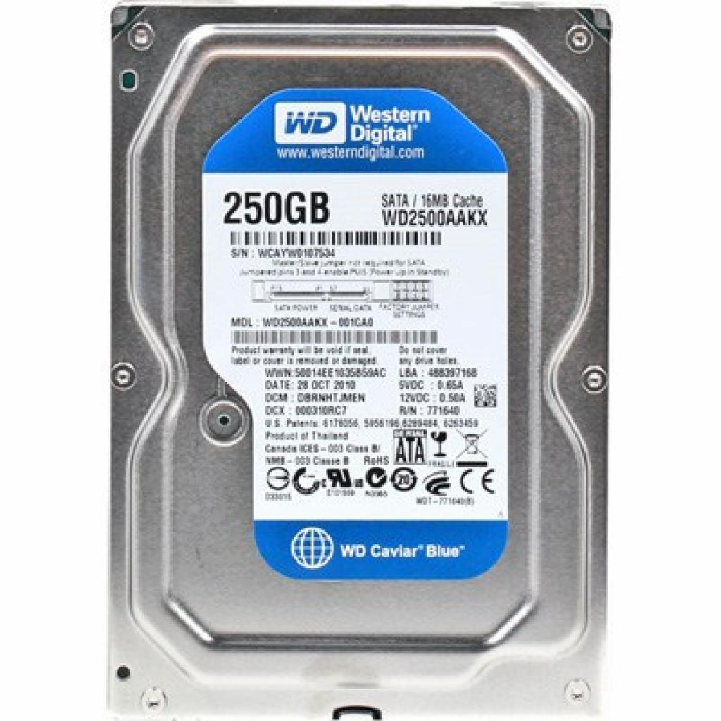 "Жесткий диск 3.5"" 250Gb Western Digital (WD2500AAKX)"