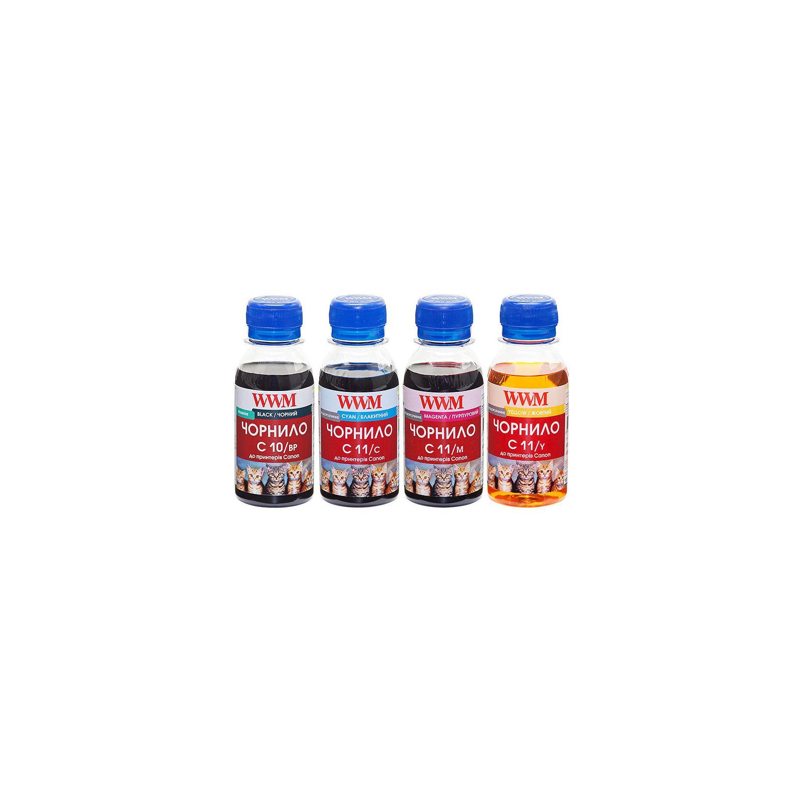 Чернила WWM CANON PG510BP/CL511C/M/Y Комплект (C10/11SET4-2)