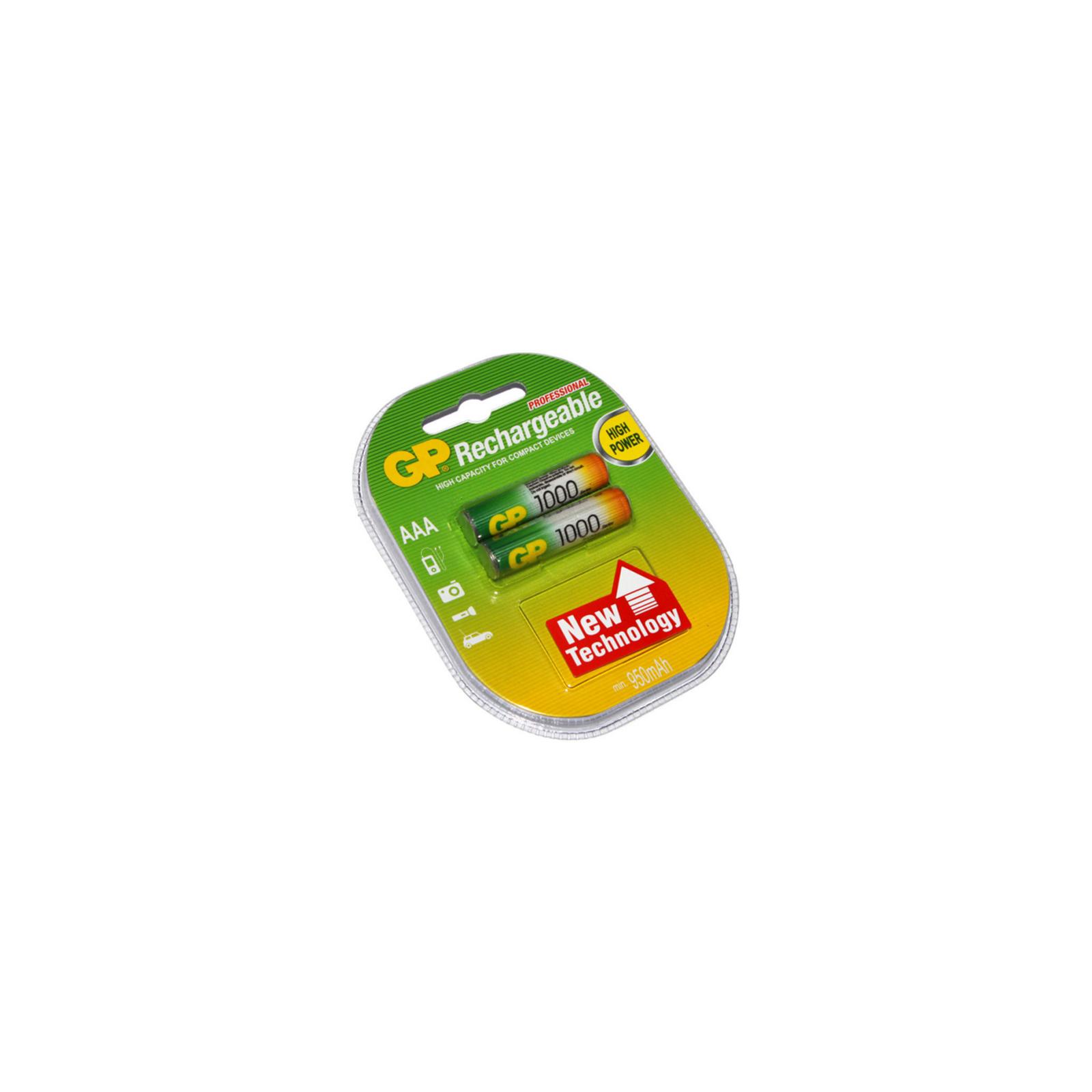 Аккумулятор AAA R3 1000mAh 2шт. GP (GP100AAAHC-2PL2)