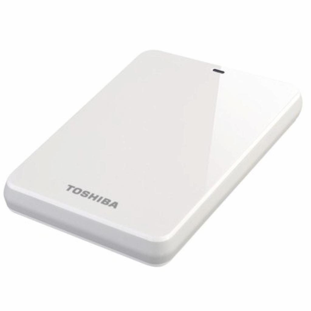 """Внешний жесткий диск 2.5"""" 1TB TOSHIBA (HDTC610EW3B1)"""