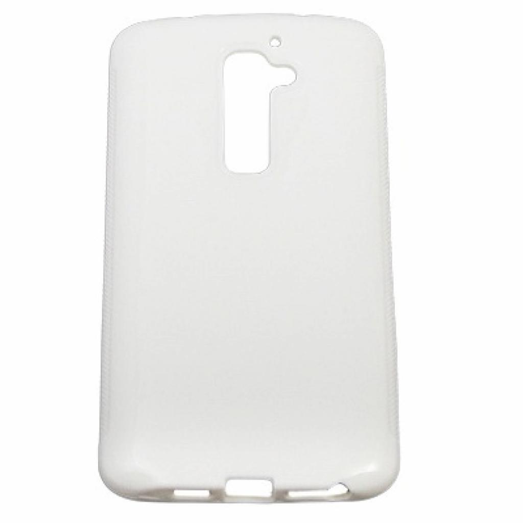 Чехол для моб. телефона Drobak для LG Optimus G2 /Elastic PU/ White (211534)