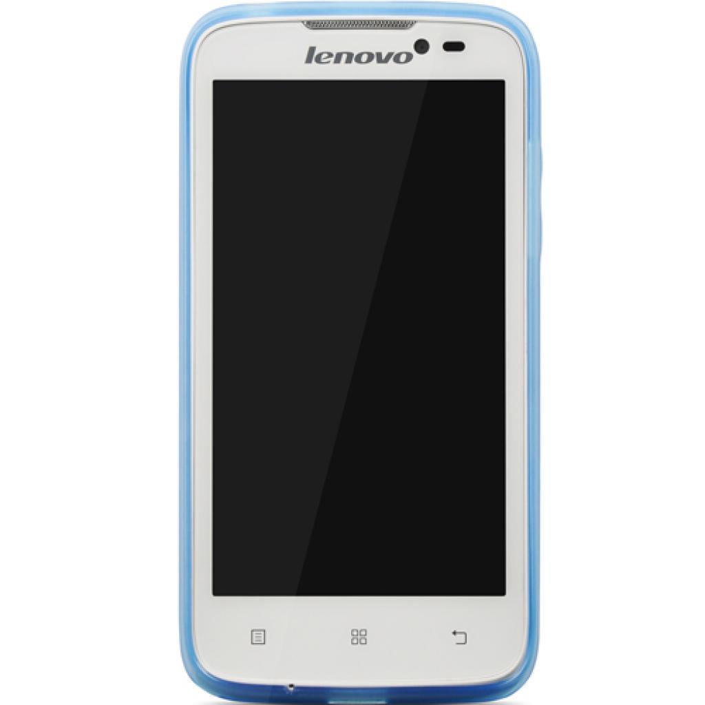 Чехол для моб. телефона Lenovo A516 Cover Blue (PG39A465TC) изображение 2