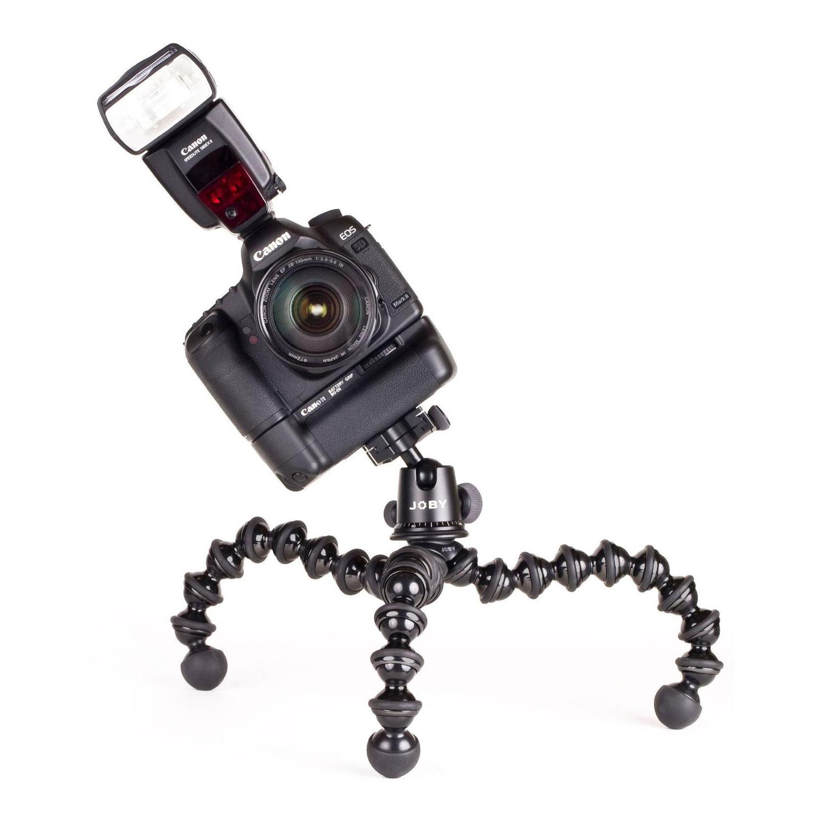 Штатив JOBY GorillaPod Focus & Ballhead X Bundle (Black/Grey) (JB00158-CEN) изображение 6