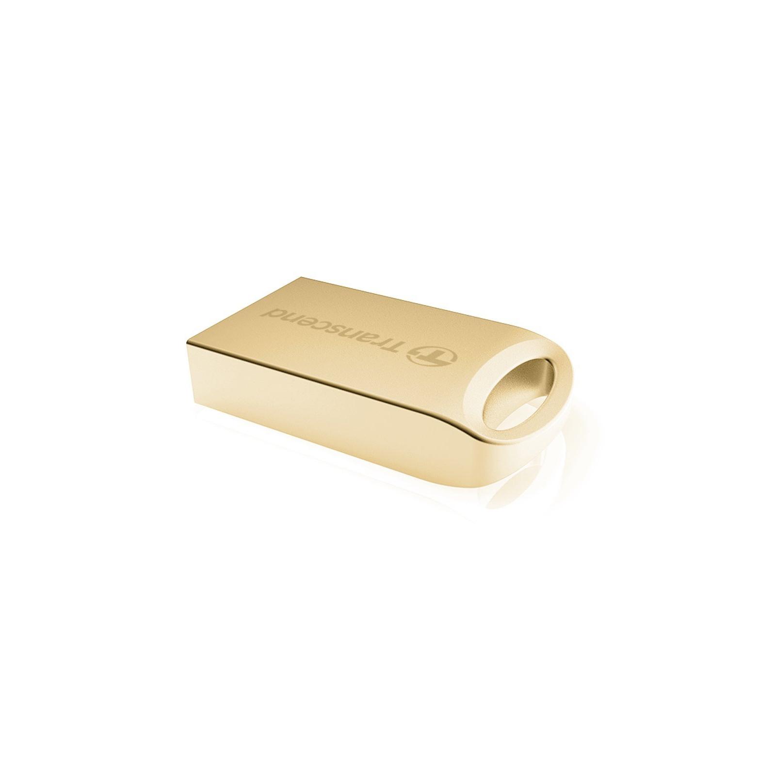 USB флеш накопитель Transcend JetFlash 510, Gold Plating (TS16GJF510G) изображение 2