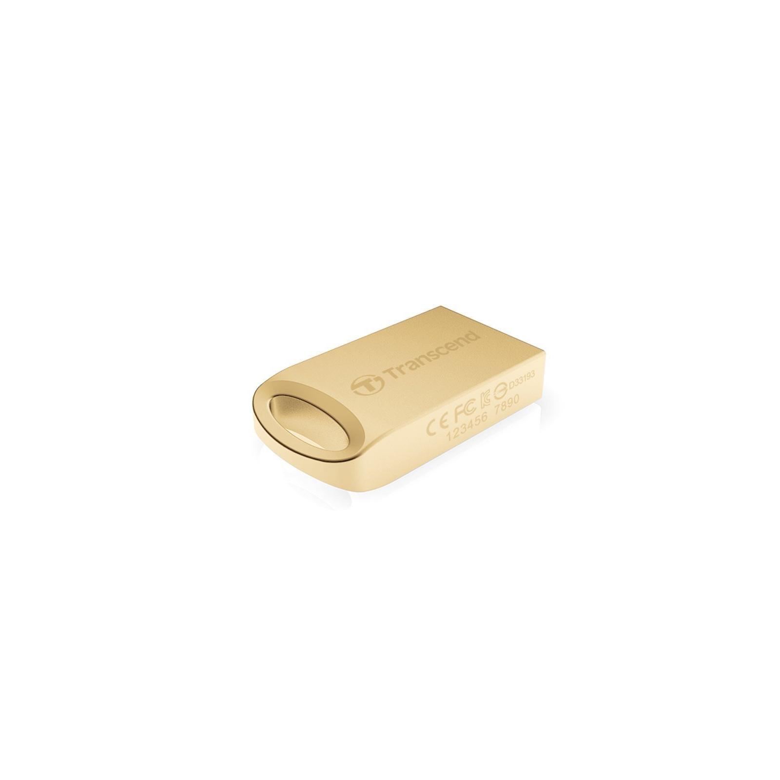 USB флеш накопитель Transcend JetFlash 510, Gold Plating (TS16GJF510G) изображение 3