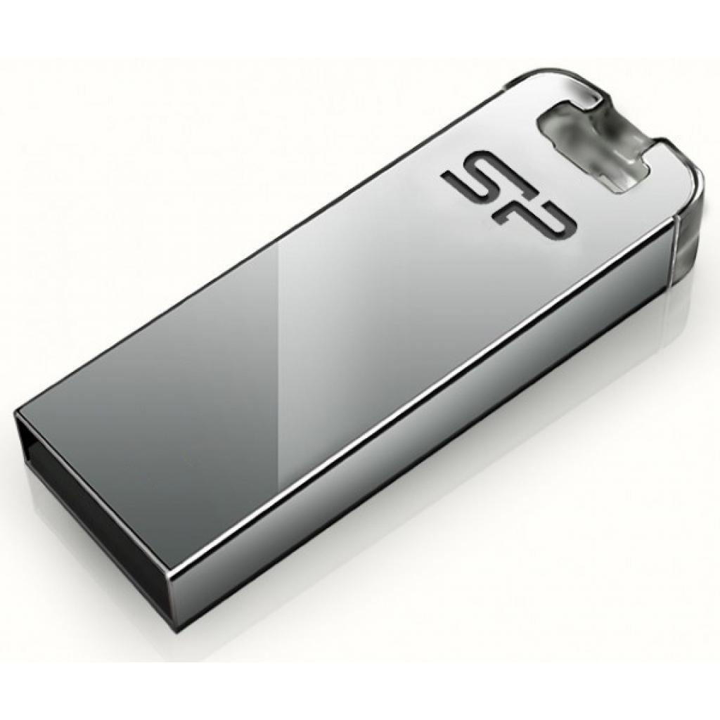 USB флеш накопитель Silicon Power Touch T03 16GB Transparent (SP016GBUF2T03V1F) изображение 1