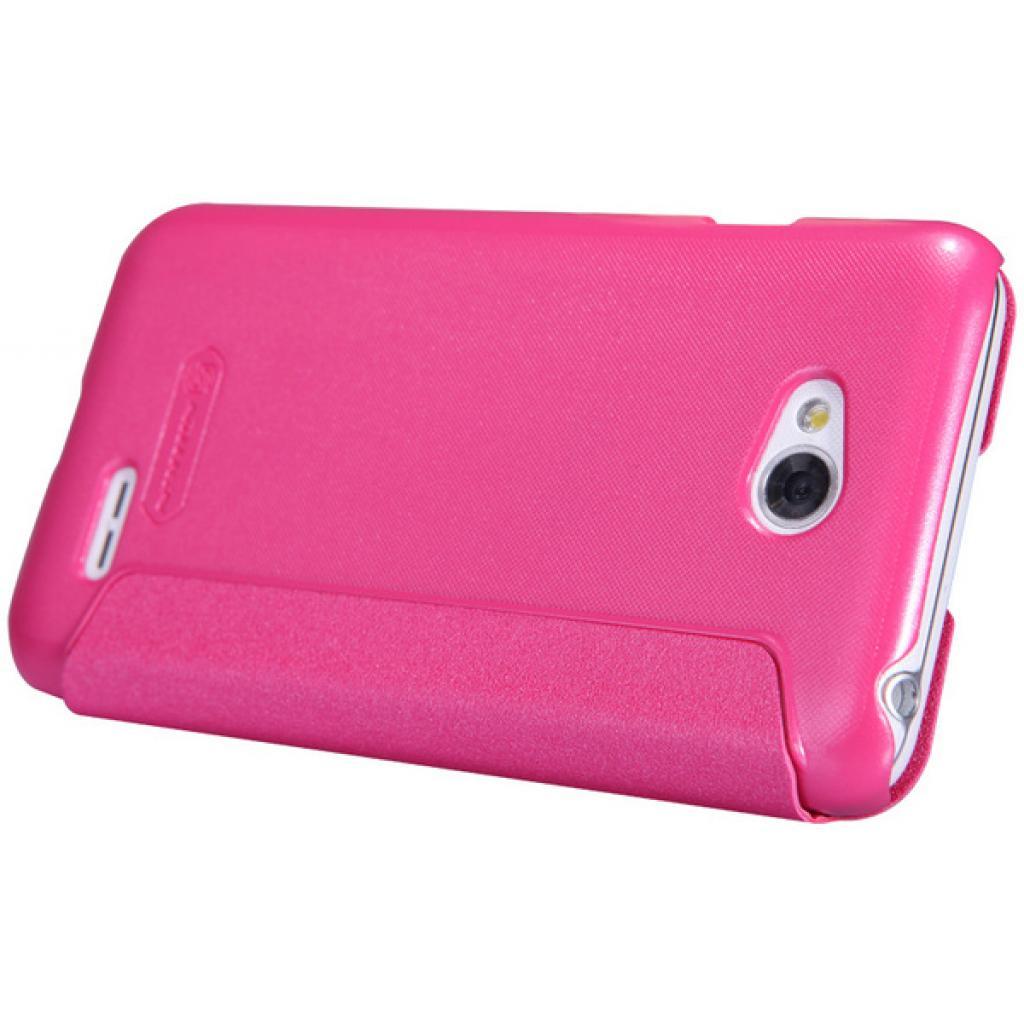 Чехол для моб. телефона NILLKIN для LG L70 Dual /Spark/ Leather/Red (6154930) изображение 3