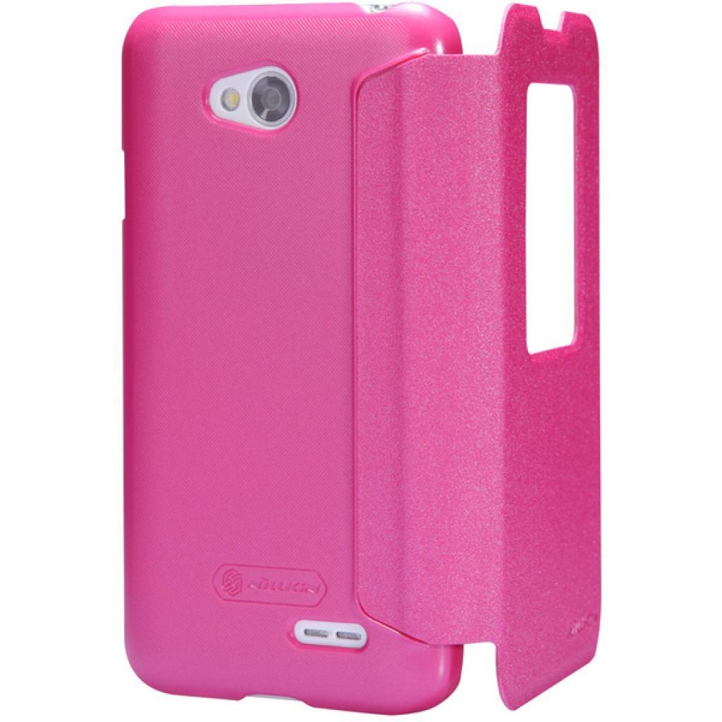 Чехол для моб. телефона NILLKIN для LG L70 Dual /Spark/ Leather/Red (6154930) изображение 4