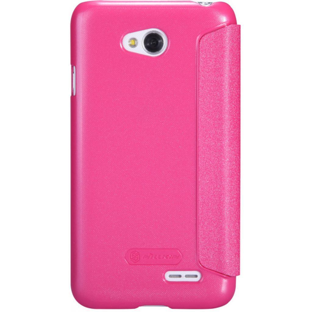 Чехол для моб. телефона NILLKIN для LG L70 Dual /Spark/ Leather/Red (6154930) изображение 5