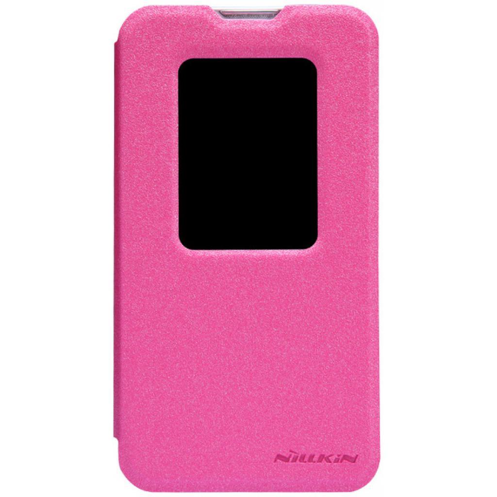 Чехол для моб. телефона NILLKIN для LG L70 Dual /Spark/ Leather/Red (6154930)