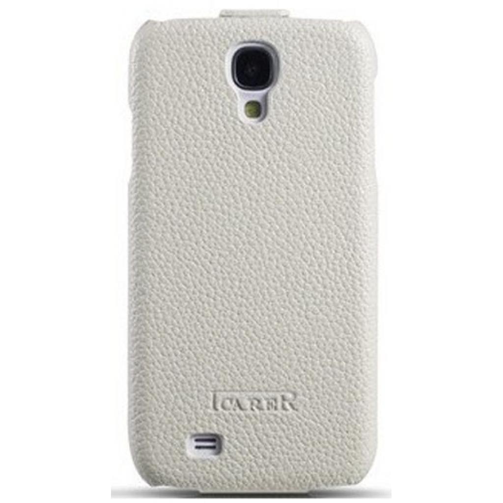 Чехол для моб. телефона i-Carer Samsung Galaxy S4 litchi patern white (RS950001WH) изображение 2