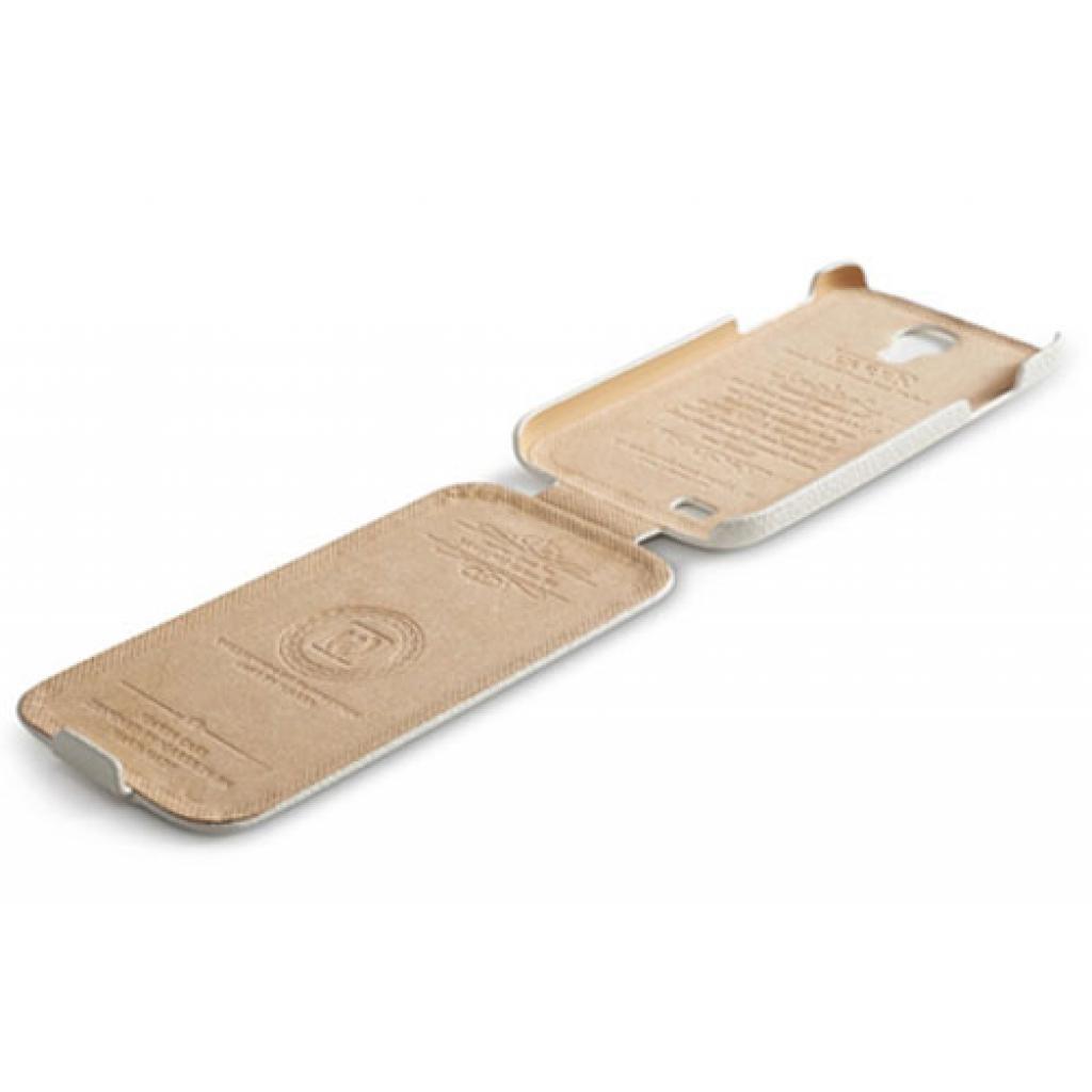 Чехол для моб. телефона i-Carer Samsung Galaxy S4 litchi patern white (RS950001WH) изображение 3