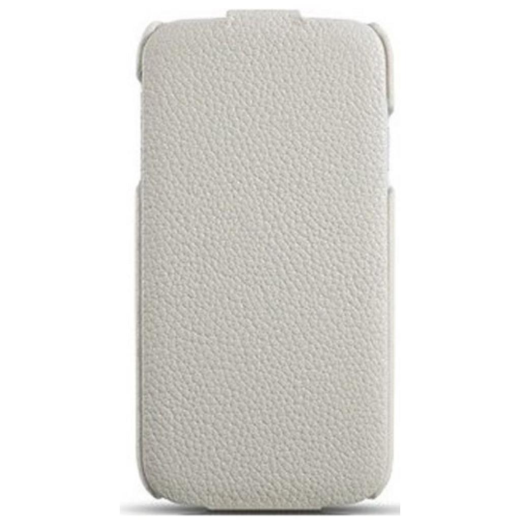 Чехол для моб. телефона i-Carer Samsung Galaxy S4 litchi patern white (RS950001WH)