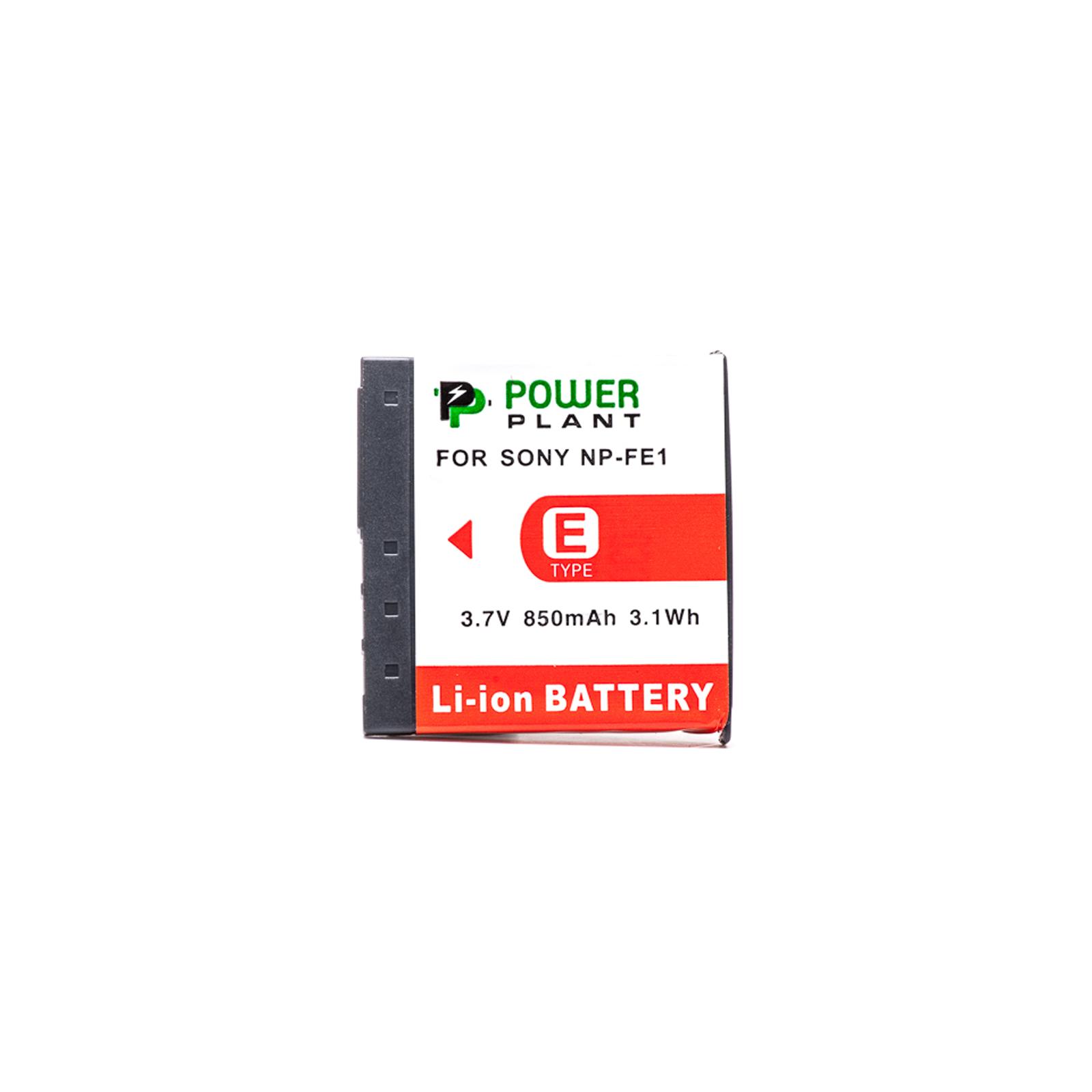 Аккумулятор к фото/видео PowerPlant Sony NP-FE1 (DV00DV1062) изображение 2