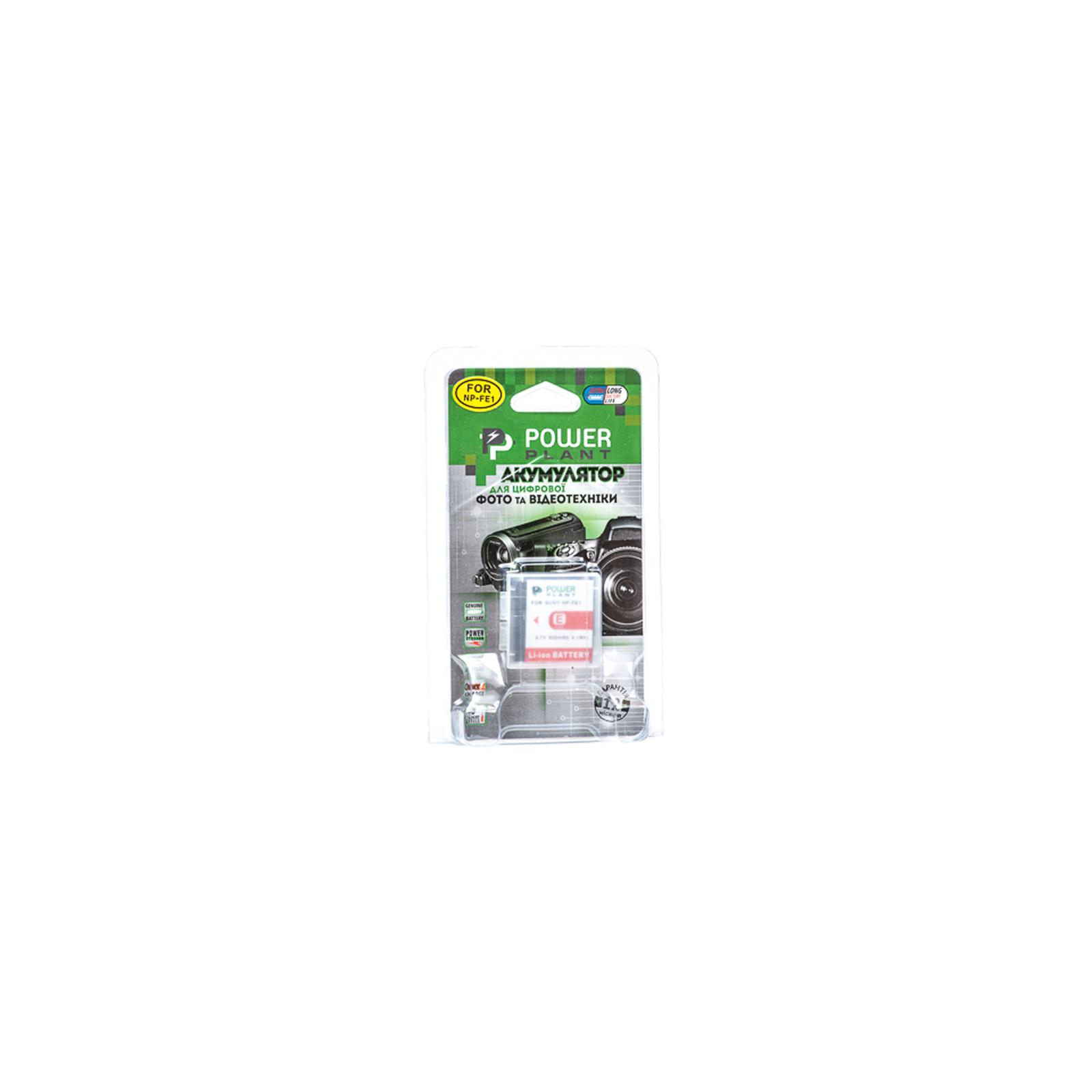 Аккумулятор к фото/видео PowerPlant Sony NP-FE1 (DV00DV1062) изображение 3