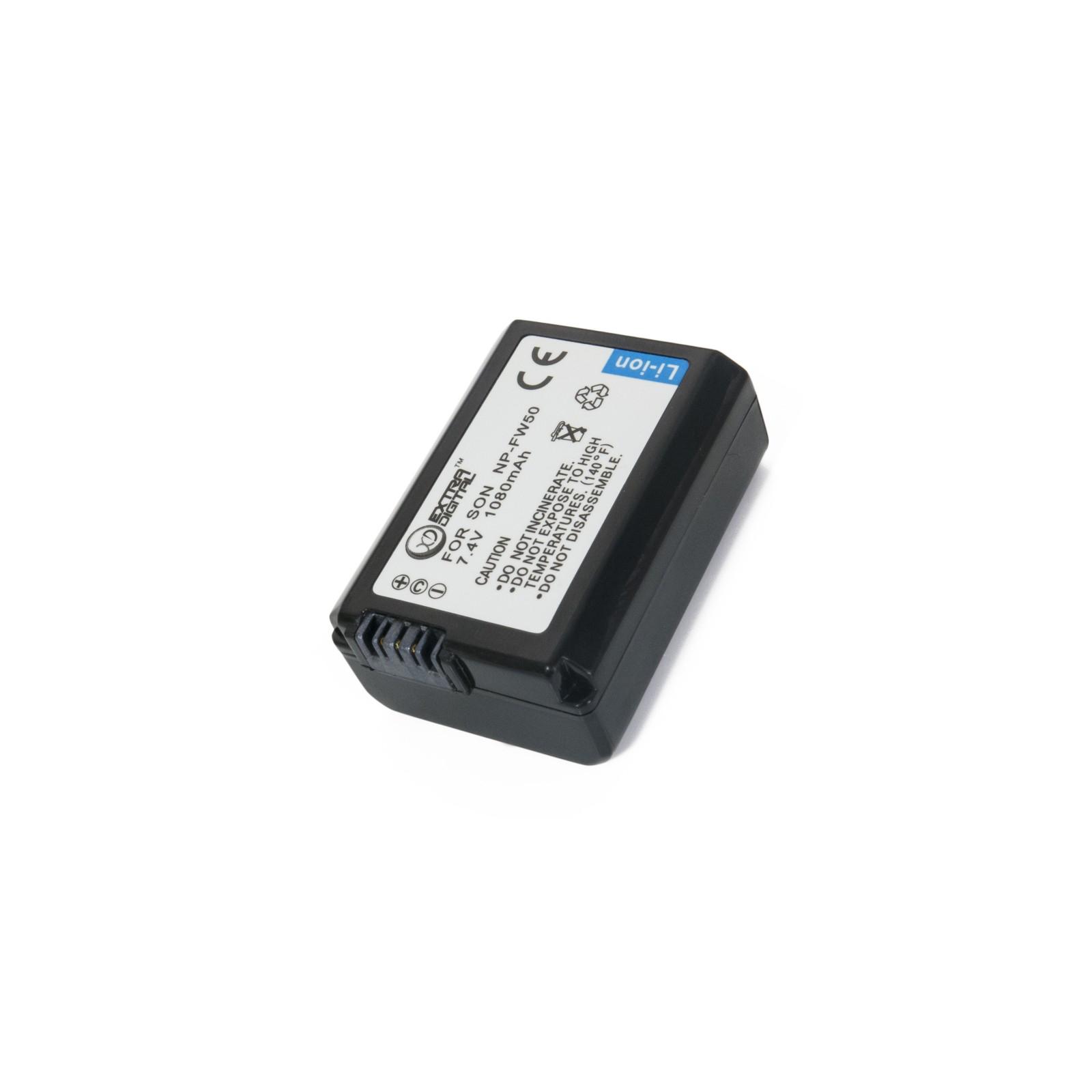 Аккумулятор к фото/видео EXTRADIGITAL Sony NP-FW50 (BDS2678) изображение 4