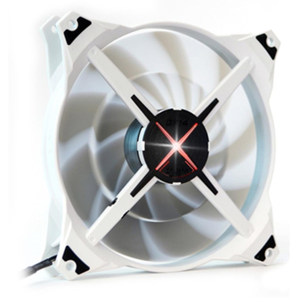 Кулер для корпуса Zalman ZM-DF14 (red) изображение 2