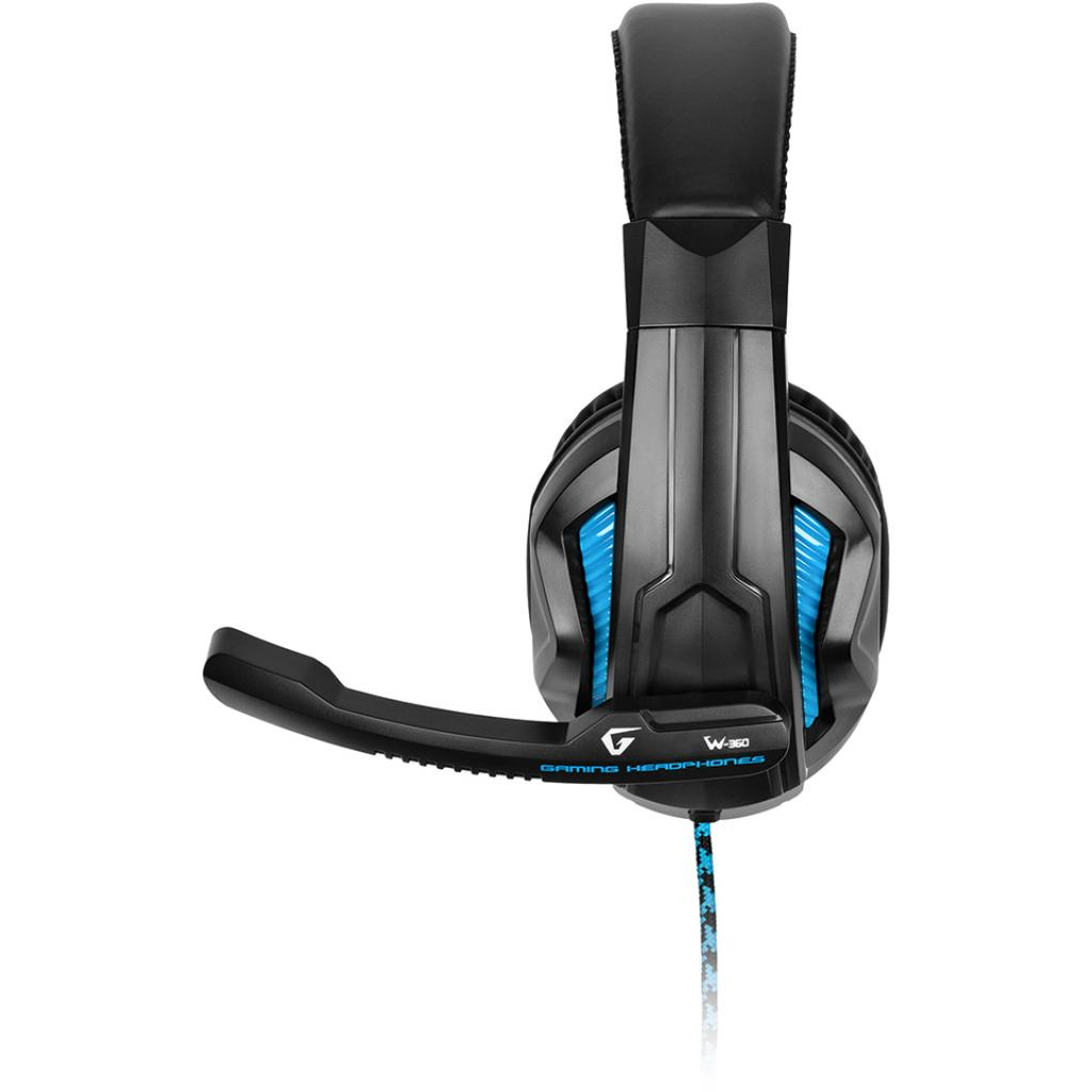 Наушники GEMIX W-360 black-blue изображение 3
