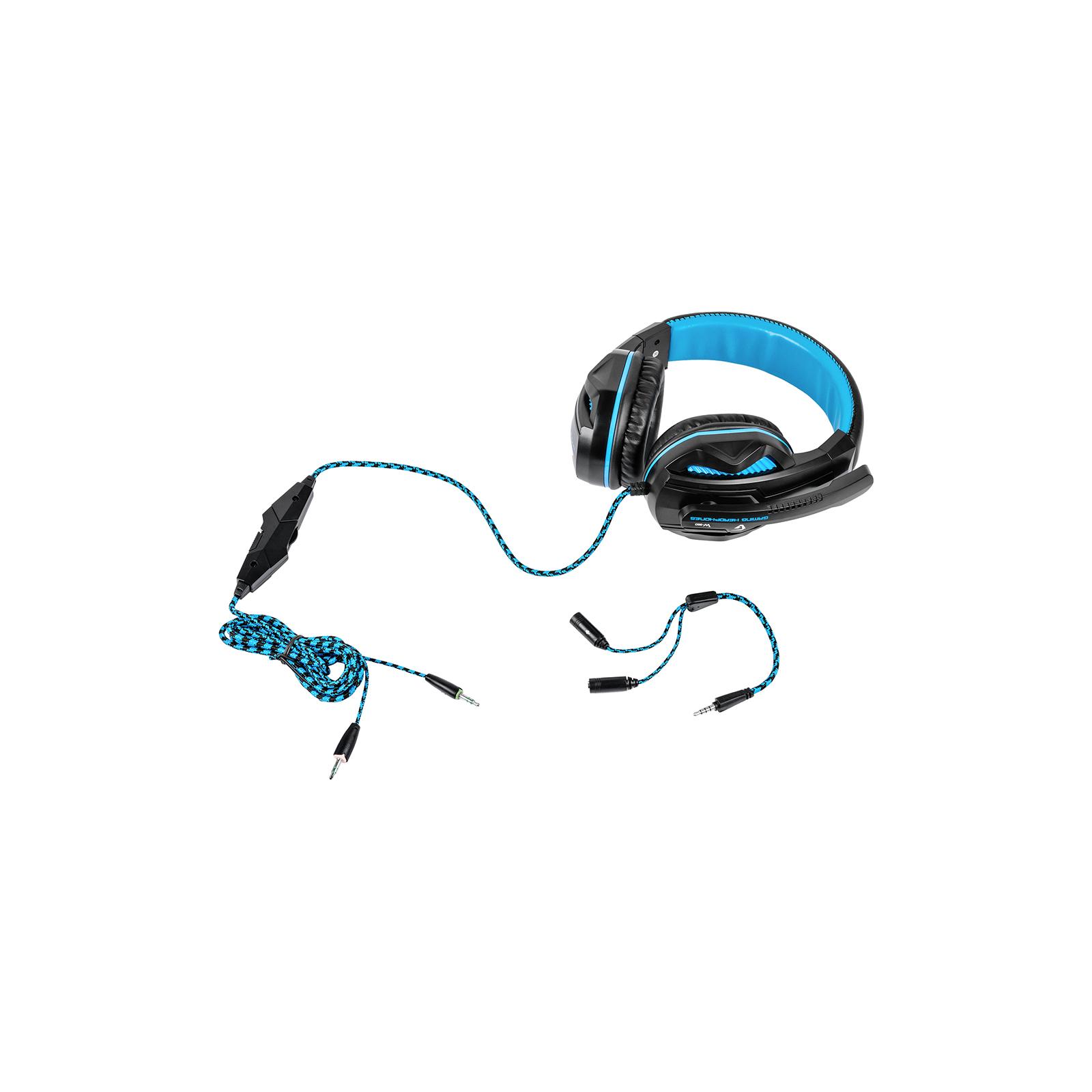 Наушники GEMIX W-360 black-blue изображение 4