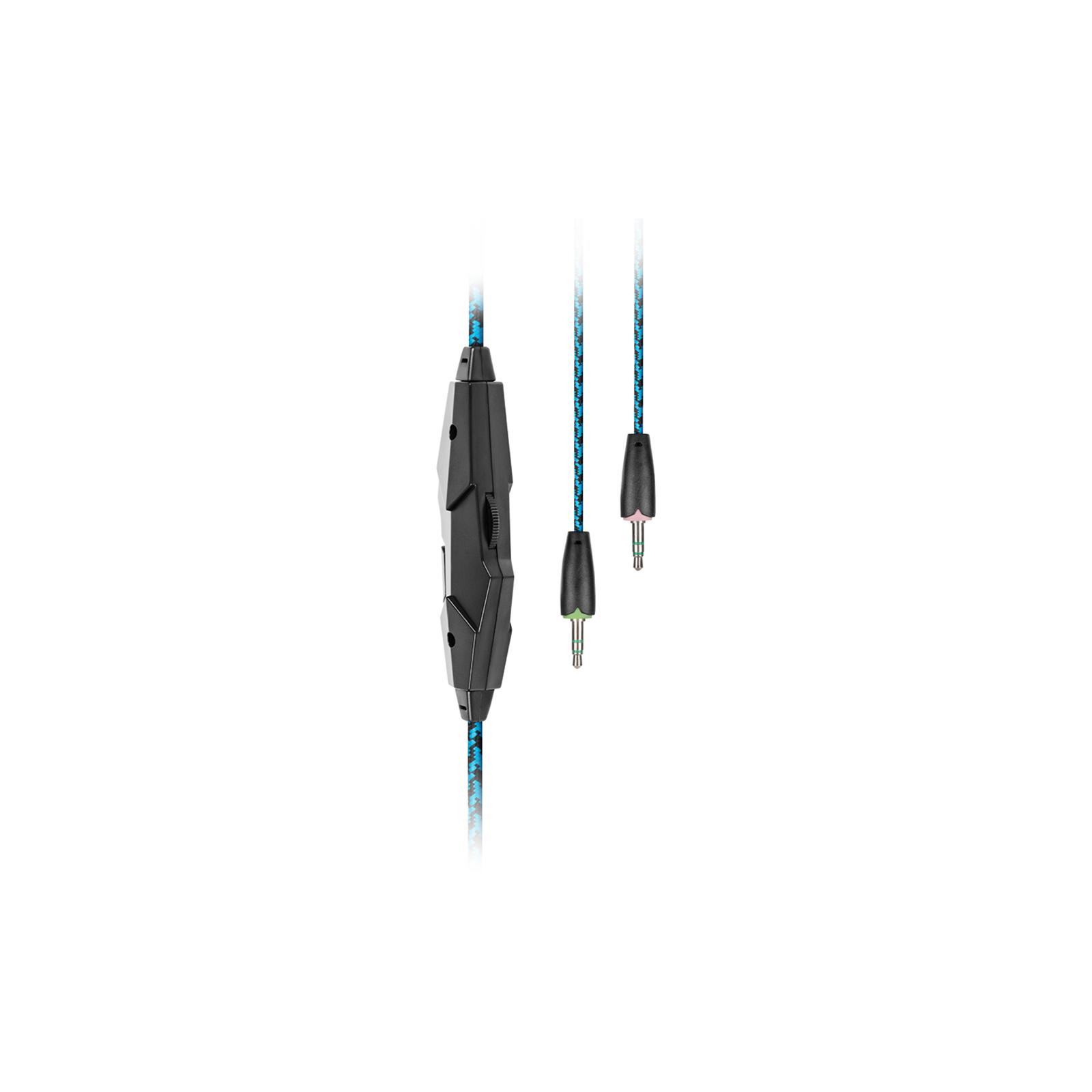 Наушники GEMIX W-360 black-blue изображение 5