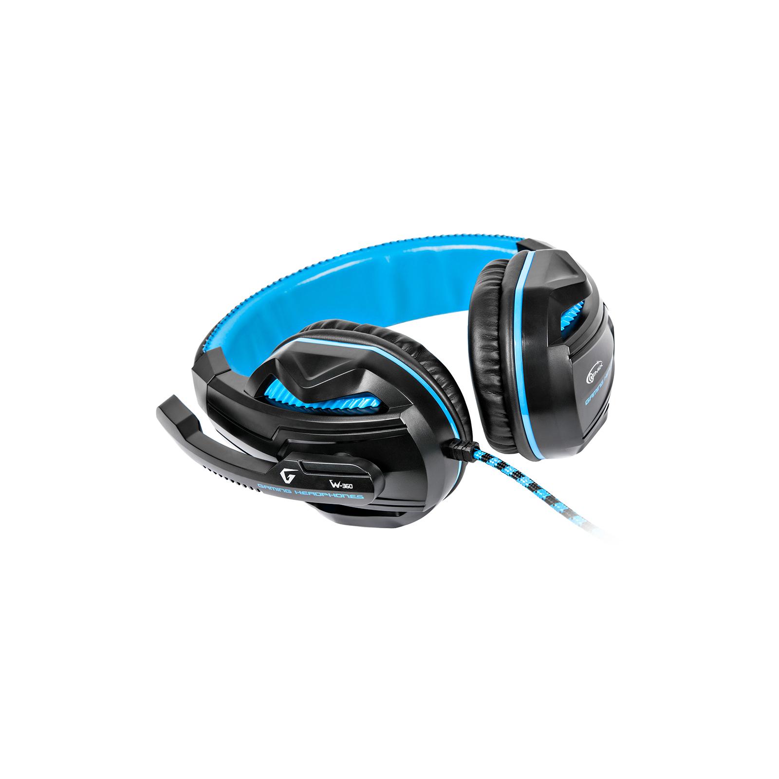 Наушники GEMIX W-360 black-blue изображение 7