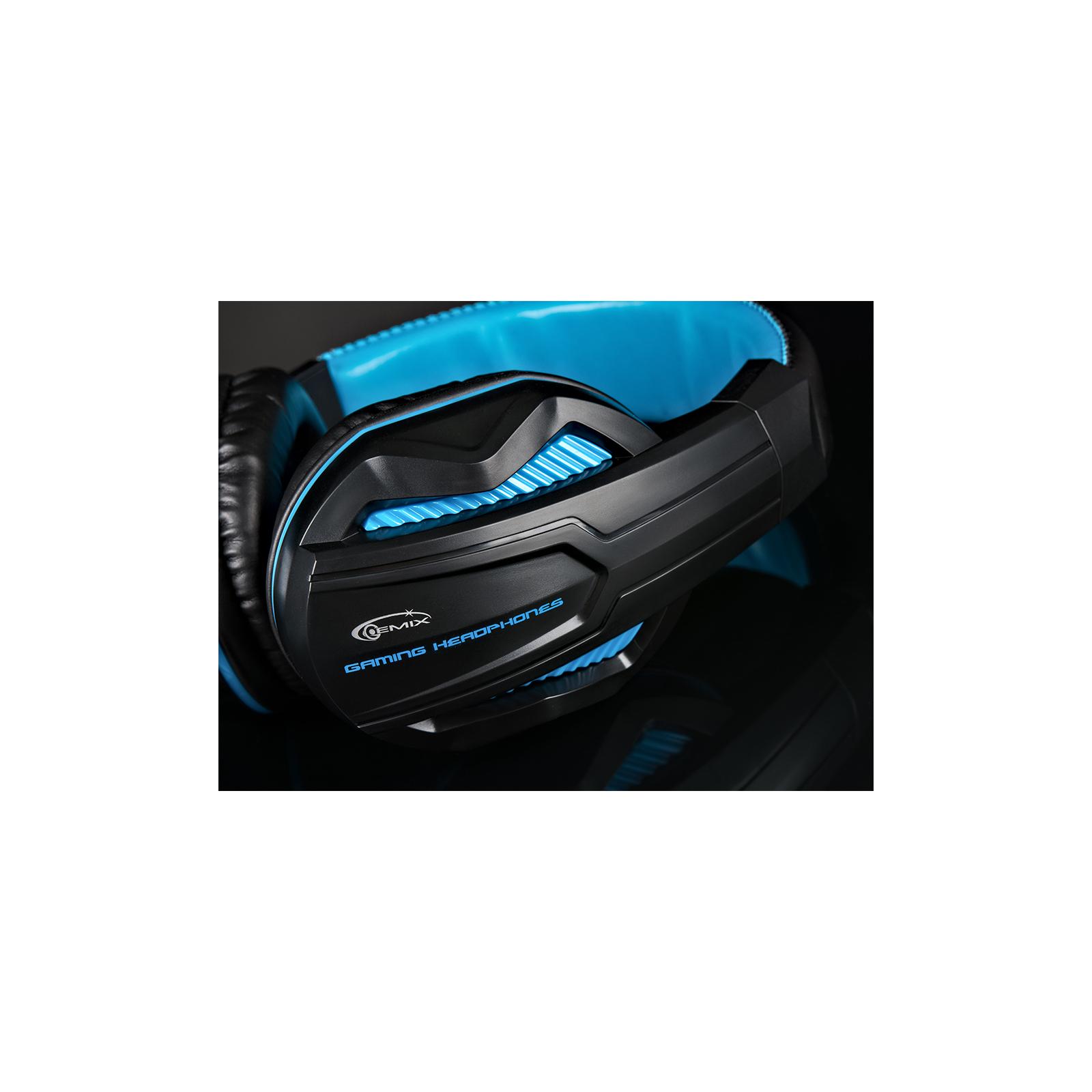 Наушники GEMIX W-360 black-blue изображение 8