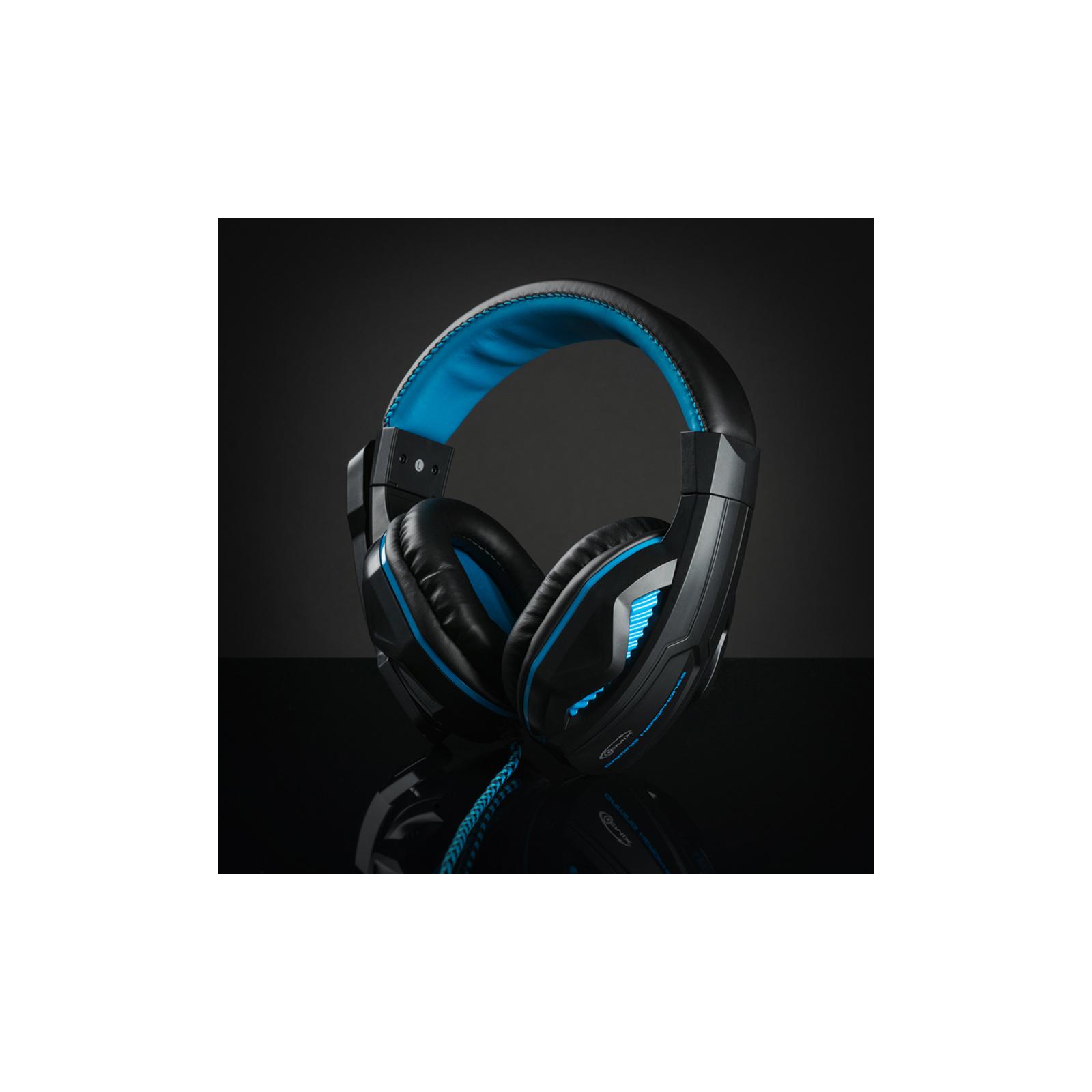 Наушники GEMIX W-360 black-blue изображение 9