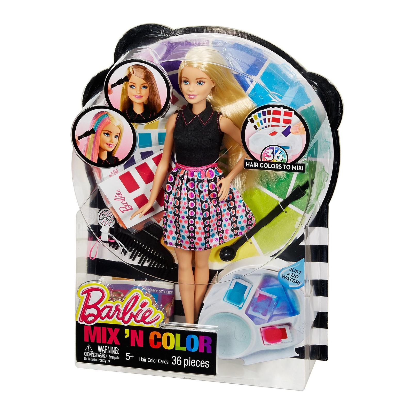 Кукла Barbie Цветной микс (DHL90)