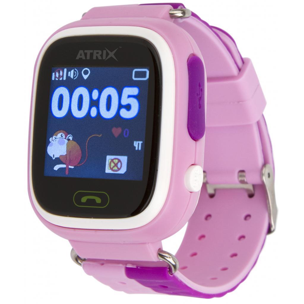 55b1d38c81f6 Смарт-часы ATRIX SW iQ400 Touch GPS Pink цены в Киеве и Украине ...
