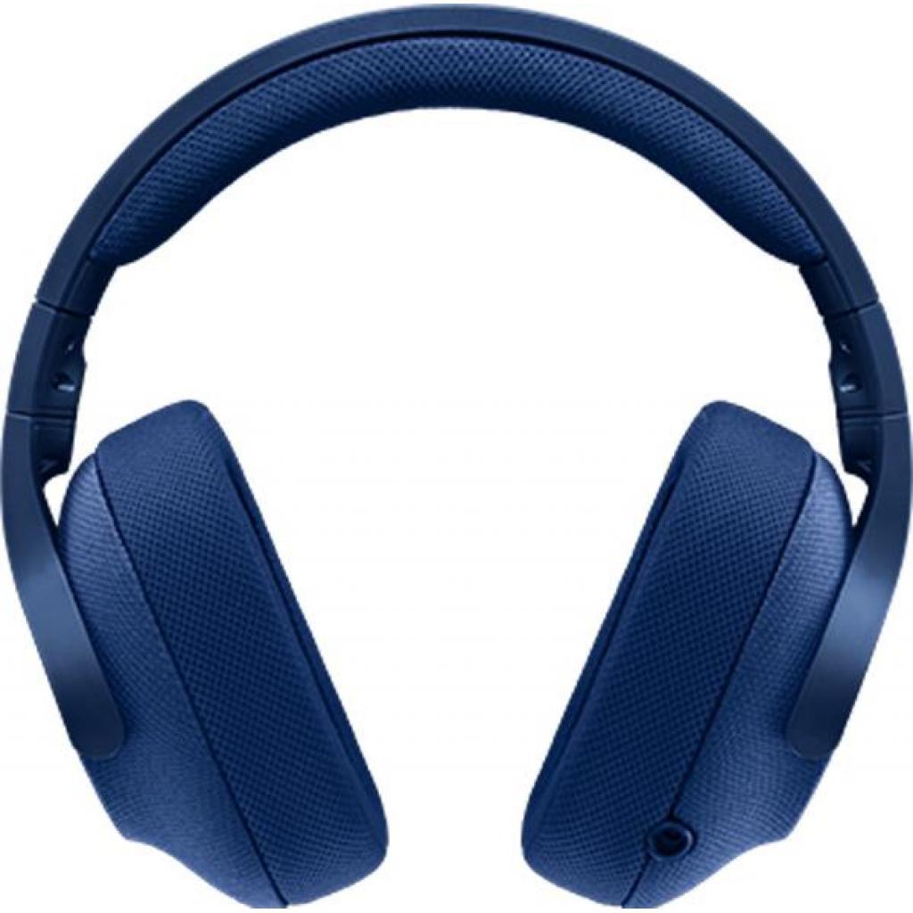 Наушники Logitech G433 7.1 Surround Gaming Headset Blue (981-000687) изображение 2