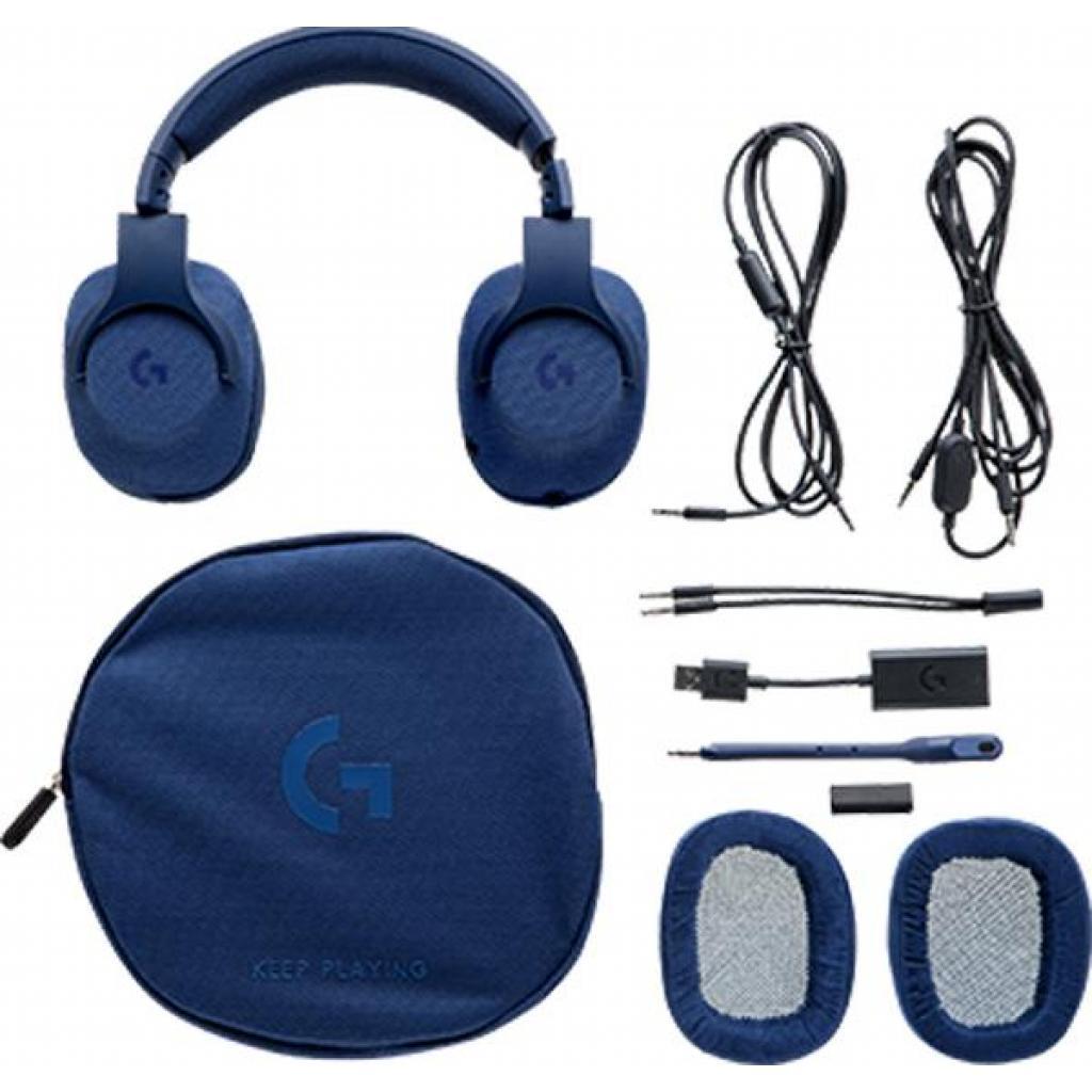 Наушники Logitech G433 7.1 Surround Gaming Headset Blue (981-000687) изображение 4