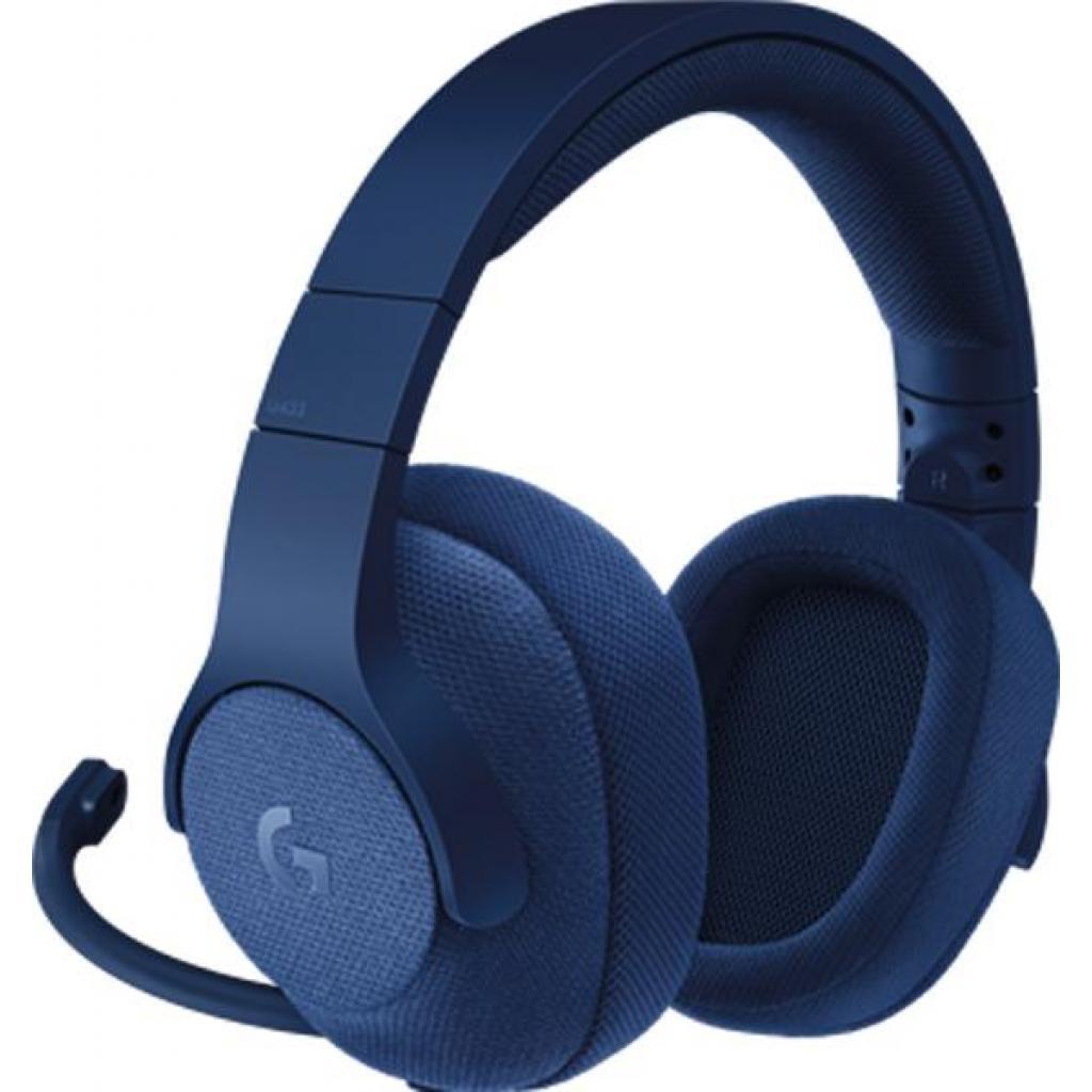 Наушники Logitech G433 7.1 Surround Gaming Headset Blue (981-000687)