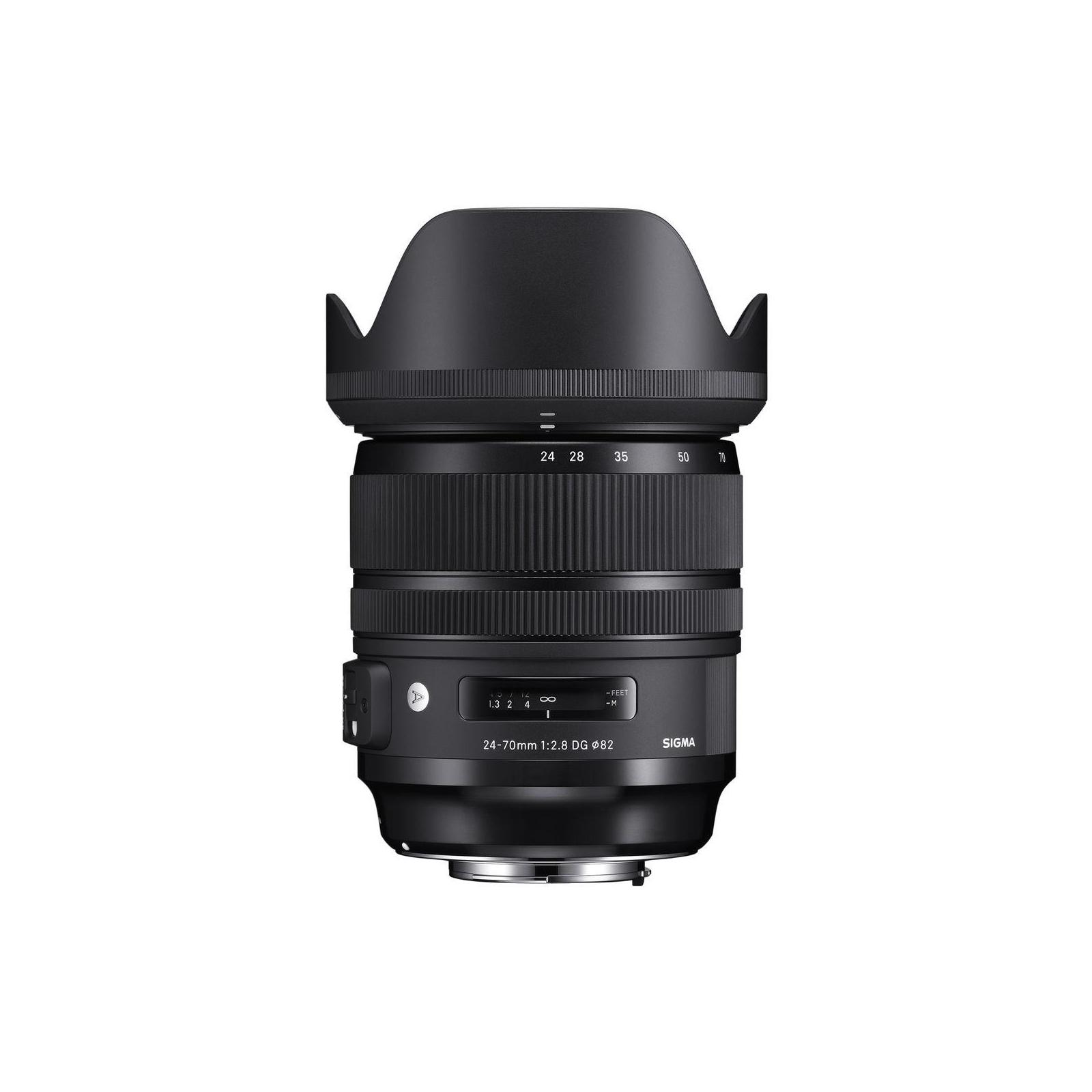 Объектив Sigma AF 24-70/2,8 EX DG OS HSM Art Canon (576954) изображение 4