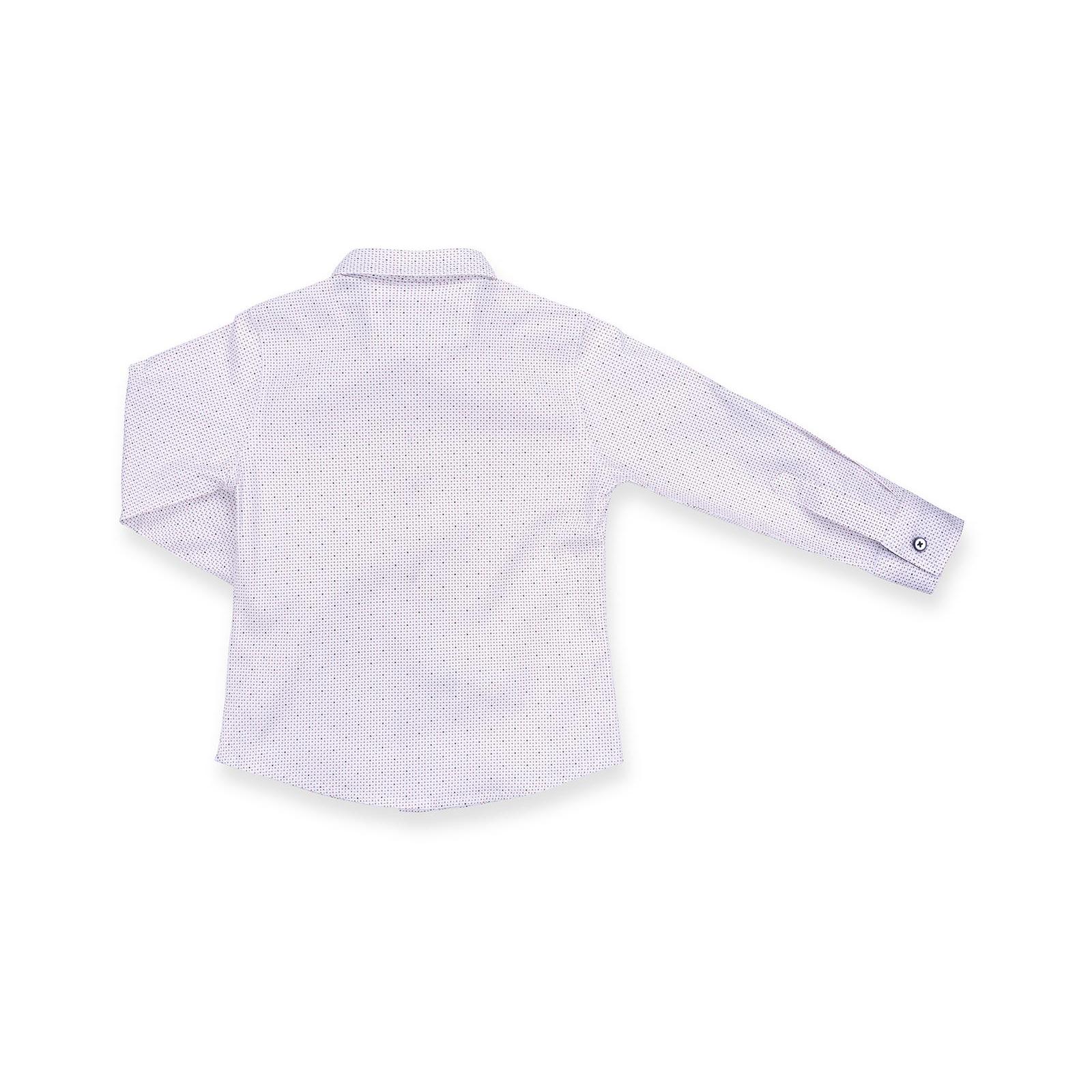 Рубашка E&H с мелким рисунком (G-257-98B-beige) изображение 2