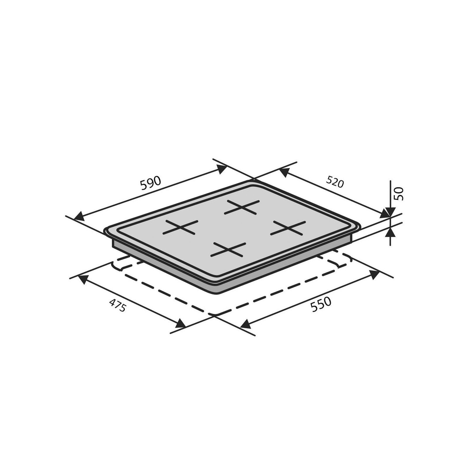 Варочная поверхность Ventolux HSF640-L3 C (WH) изображение 11