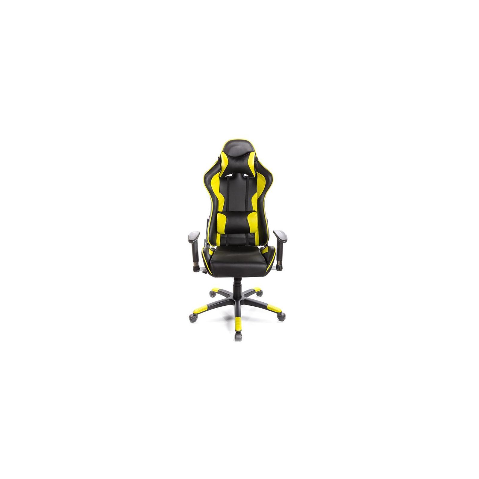 Кресло игровое АКЛАС Хорнет PL RL Желтое (06153) изображение 2