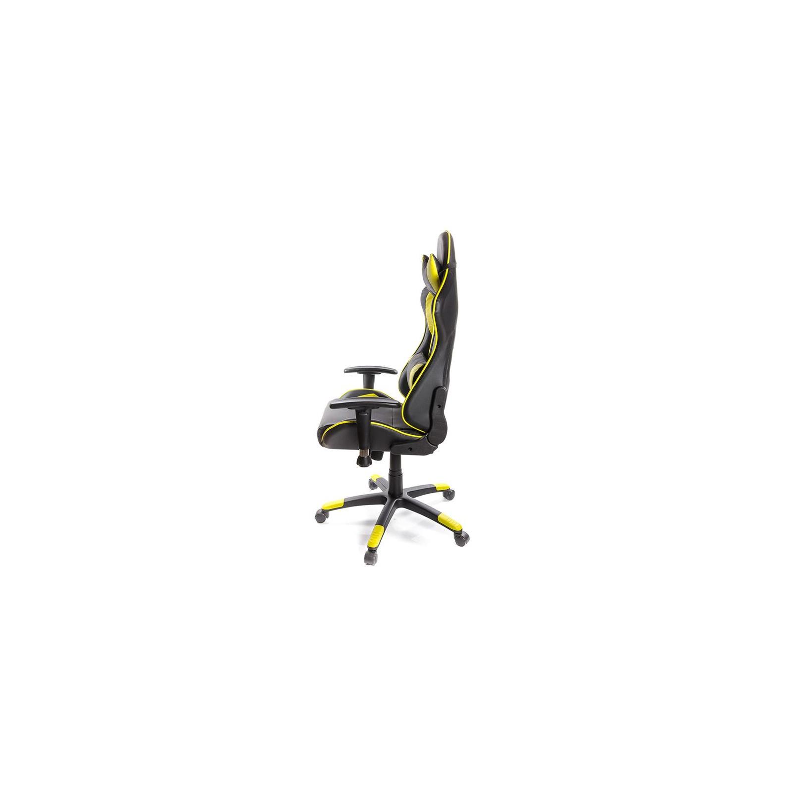 Кресло игровое АКЛАС Хорнет PL RL Желтое (06153) изображение 3