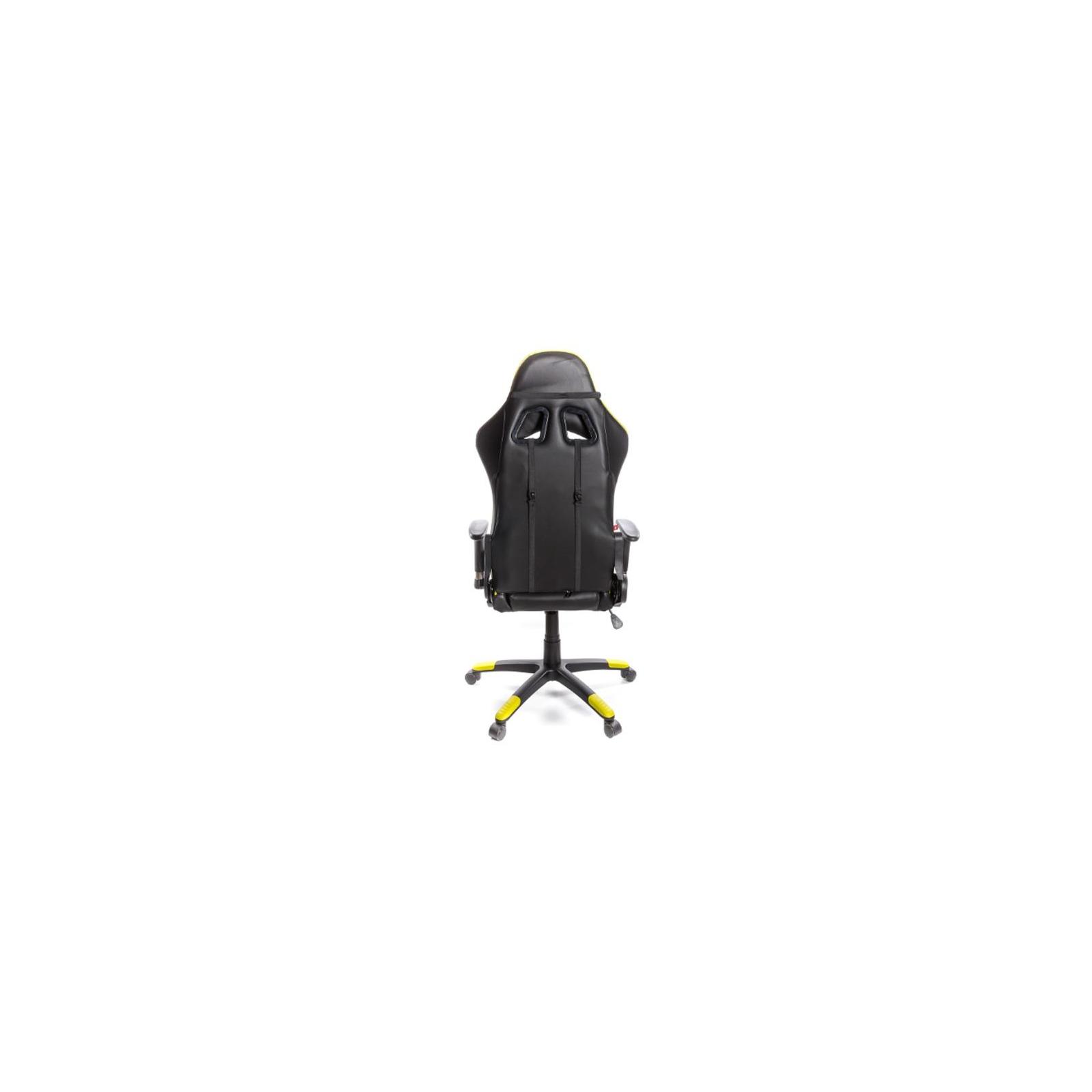 Кресло игровое АКЛАС Хорнет PL RL Желтое (06153) изображение 4