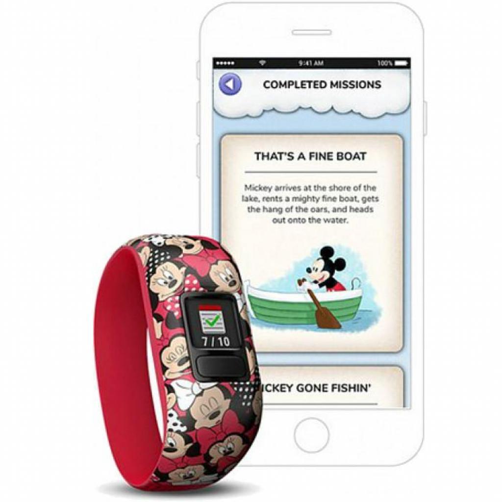 Фитнес браслет Garmin Vivofit Jr 2 Disney Minnie Mouse (010-01909-50) изображение 4