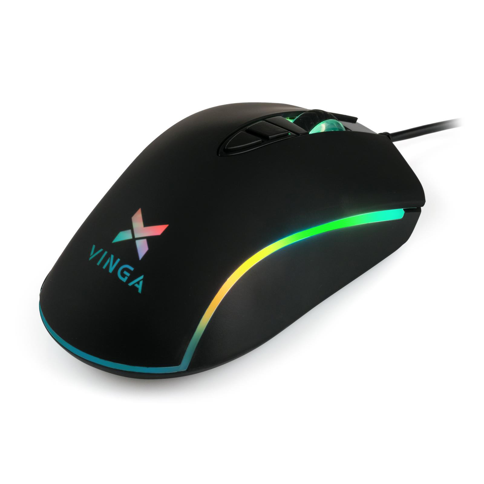 Мышка Vinga MSG-180 Black изображение 6