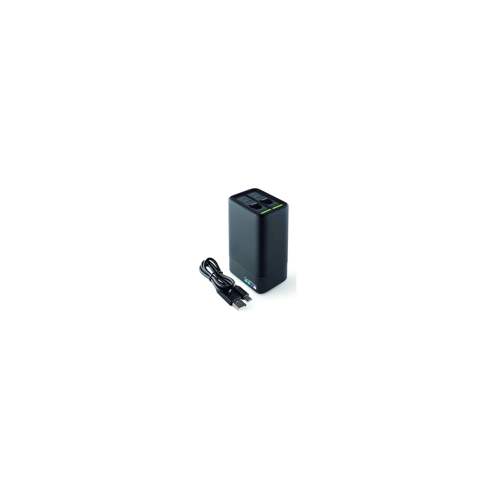Аксессуар к экшн-камерам GoPro Fusion Dual Battery Charger + Battery (ASDBC-001-EU) изображение 4