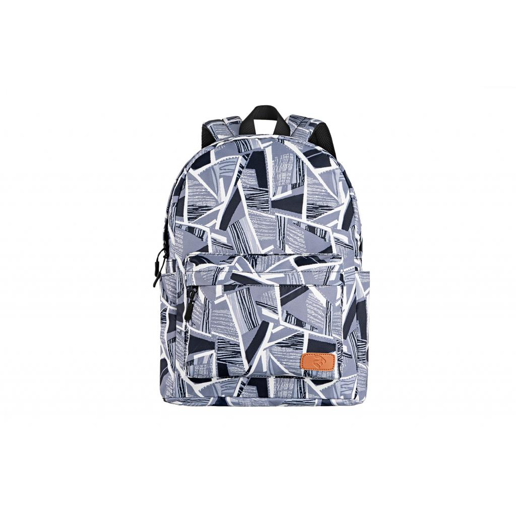 "Рюкзак для ноутбука 2E 13"" TeensPack Absrtraction, grey (2E-BPT6114GA) зображення 2"
