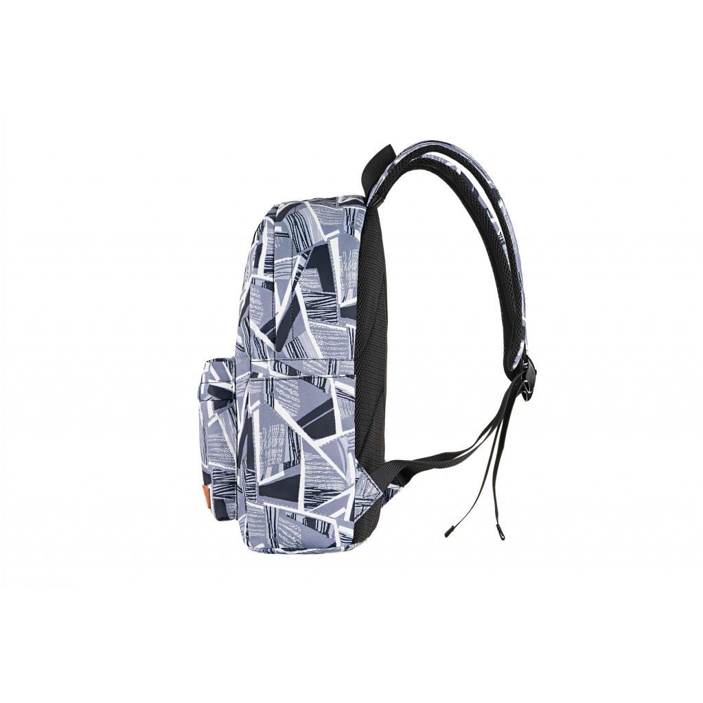 "Рюкзак для ноутбука 2E 13"" TeensPack Absrtraction, grey (2E-BPT6114GA) зображення 4"