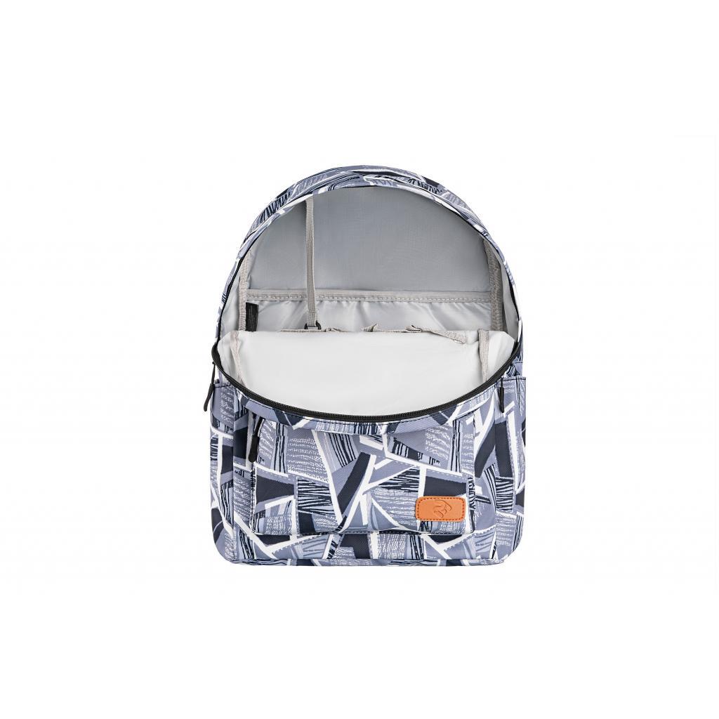 "Рюкзак для ноутбука 2E 13"" TeensPack Absrtraction, grey (2E-BPT6114GA) зображення 6"