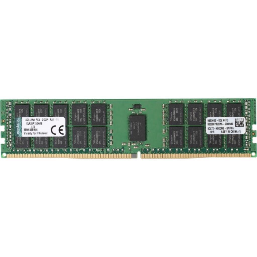 Модуль памяти для сервера DDR4 64GB ECC RDIMM 3200MHz 2Rx4 1.2V CL22 Kingston (KSM32RD4/64HAR)